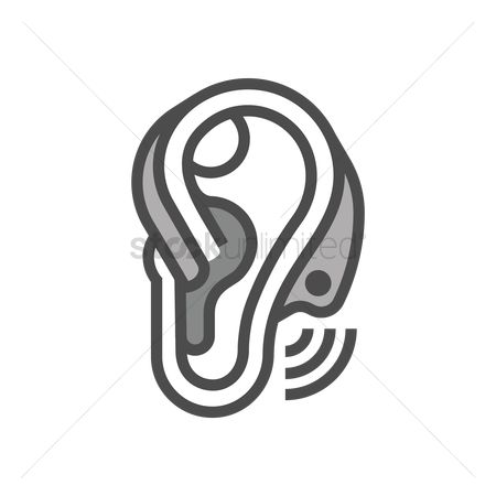 Free Hearing Aid Stock Vectors Stockunlimited