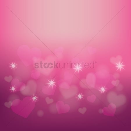 Romance : Hearts background