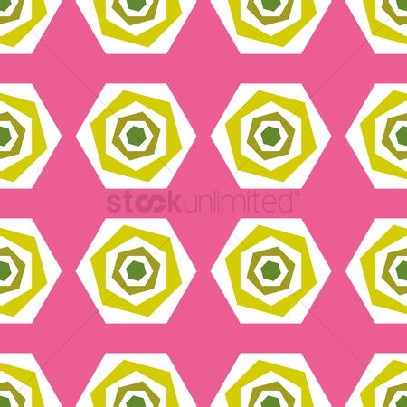 Background : Hexagon background