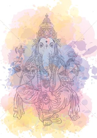 Free Hinduism Symbol Stock Vectors   StockUnlimited