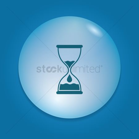 Drippings : Hourglass icon