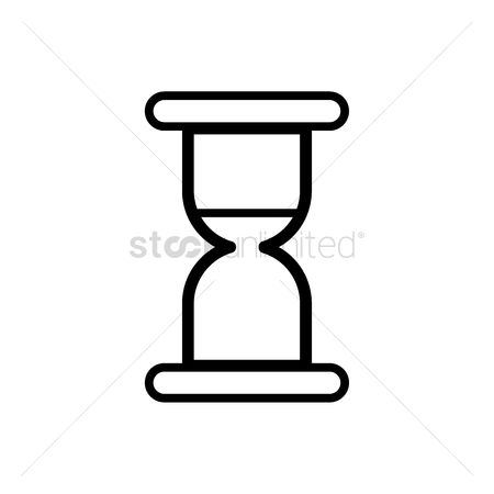 White sands : Hourglass icon