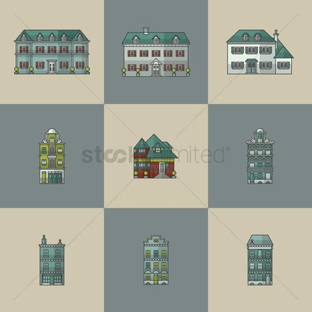 Chimneys : House collection