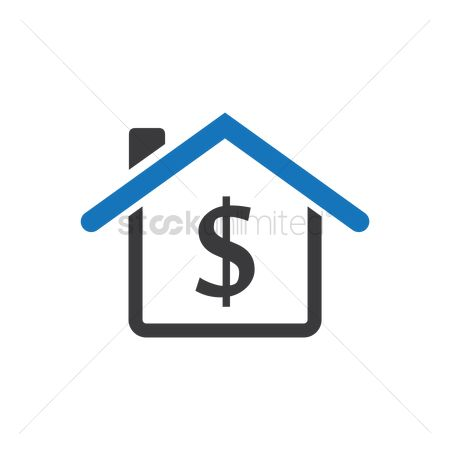 Cottage : House with dollar sign