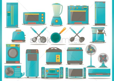 Appliances : Household and electrical appliances