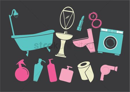 Cosmetic : Household objects and toiletries