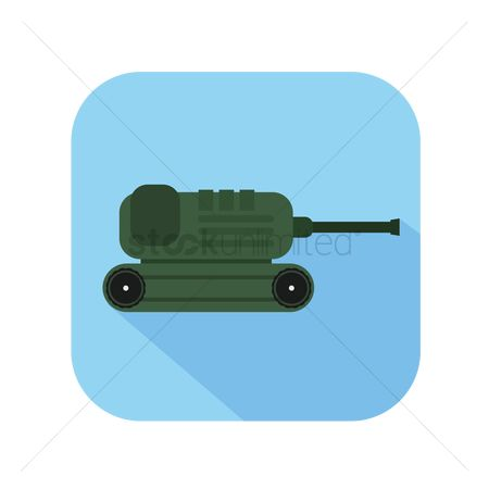 Tanks : Icon of a tanker