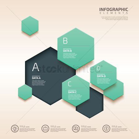 Geometrics : Infographic design elements