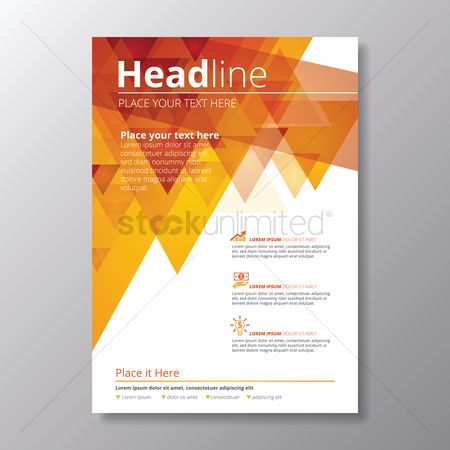 Ideas : Infographic headline poster