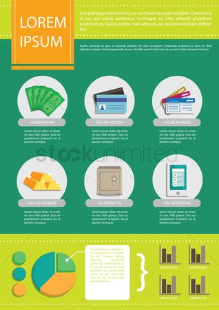 Banking : Infographic of banking