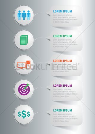 Document : Infographic of business concept