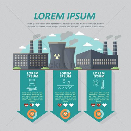 Chimneys : Infographic of industry