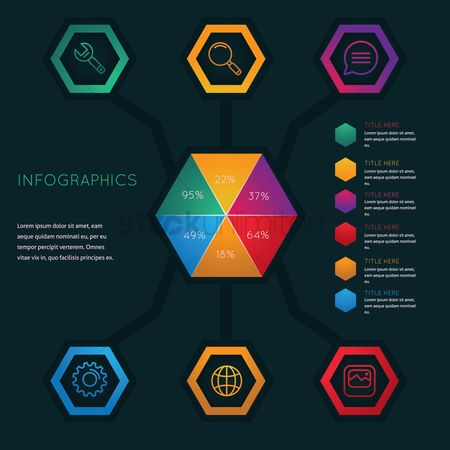 Datum : Infographic of technology