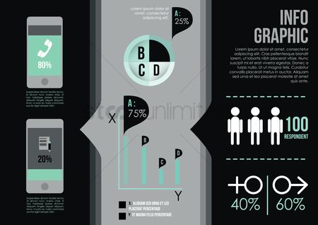 Digit : Infographic template