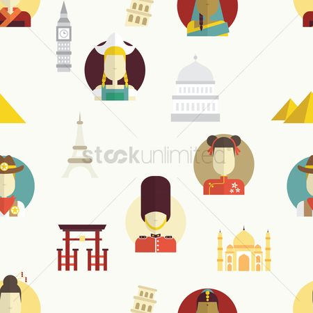 Towers : International landmark and culture background