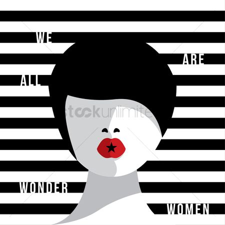 Trendy : International women s day design