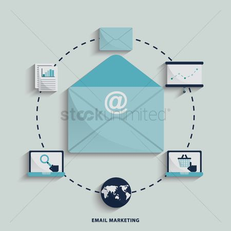 Email : Internet marketing concept
