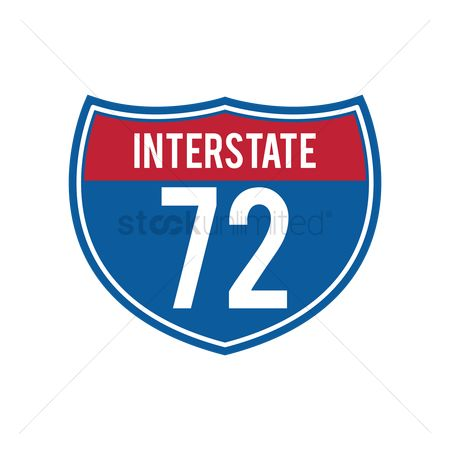 Interstates : Interstate 72 route sign