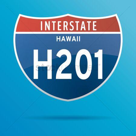Interstates : Interstate hawaii two hundrend one route sign
