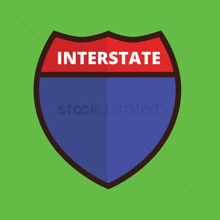 Interstates : Interstate route sign