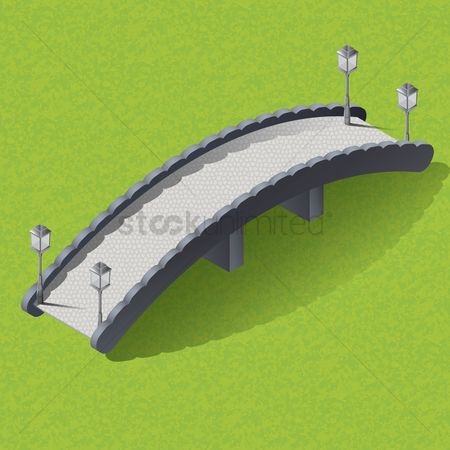 Dimensional : Isometric arch bridge