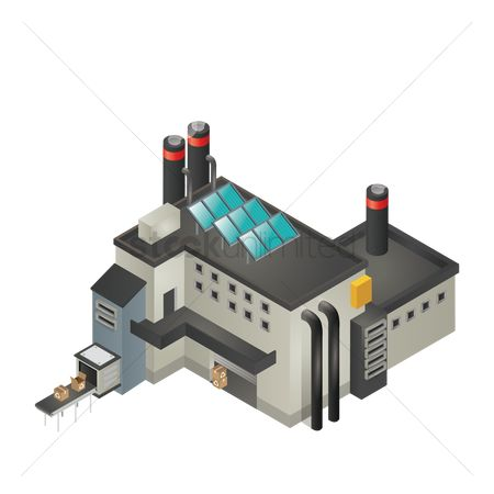 Boxes : Isometric factory