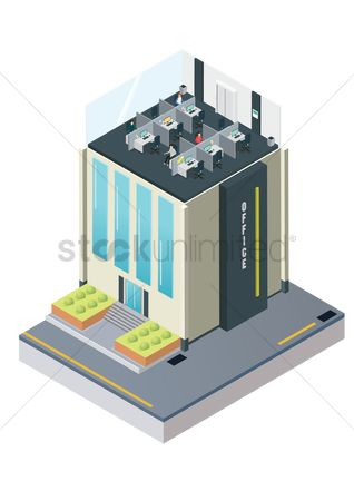 Architectures : Isometric office