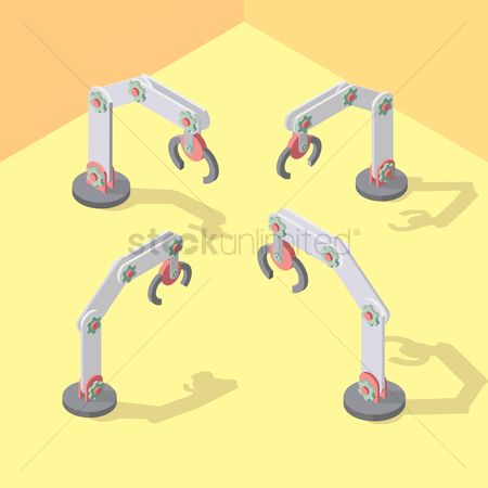 Arm : Isometric robotic arms