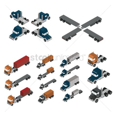 Truck : Isometric vehicles