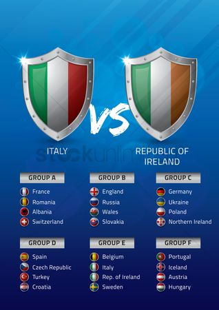 Belgium : Italy vs republic of ireland
