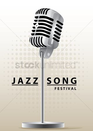 Melody : Jazz song festival poster design