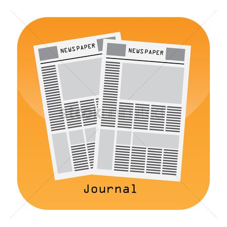Icons news : Journal mobile app icon