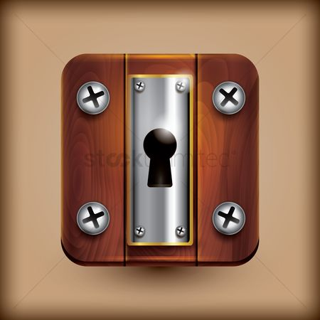 Password : Keyhole icon