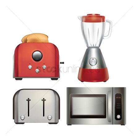 Slices : Kitchen appliance set