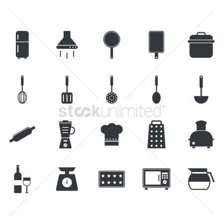 Lightweight : Kitchen icons