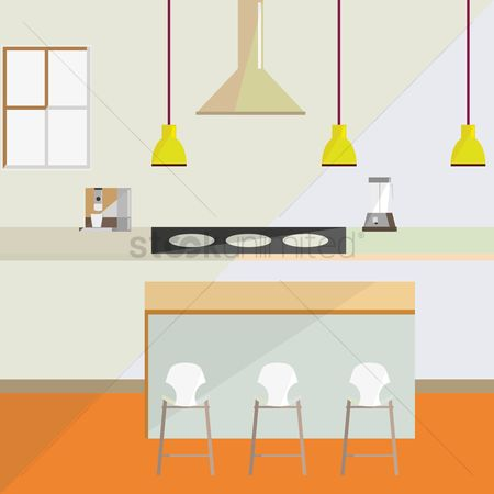 Indoor : Kitchen interior