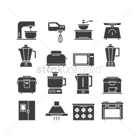 Appliances : Kitchen tools icons
