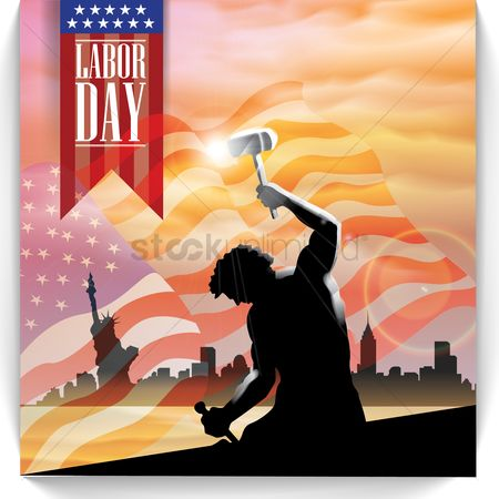 Workers : Labor day design