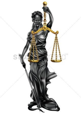 Statues : Lady justice statue