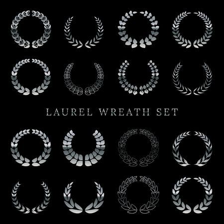 Copy space : Laurel wreath set