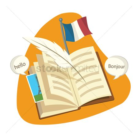 Language : Learn french concept