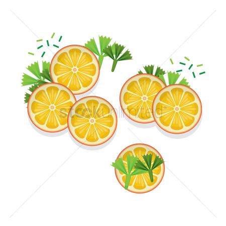 Aroma : Lemon slices and cilantro