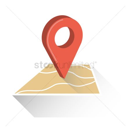 Map pointer : Location pointer