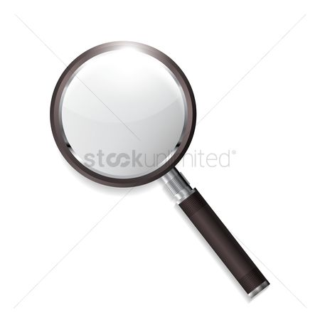 Magnifying : Magnifying glass