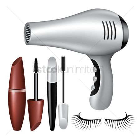 Appliances : Makeup icon set