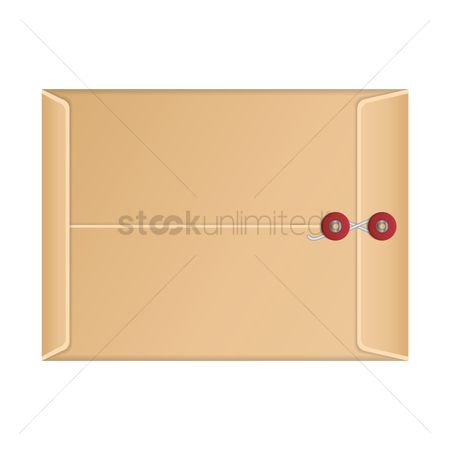 Backview : Manila envelope