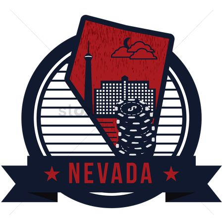 Lasvegas : Map of nevada state