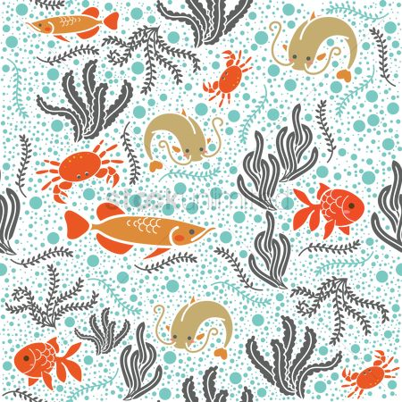Claws : Marine life background design