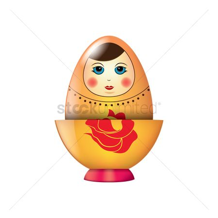Dolls : Matryoshka doll