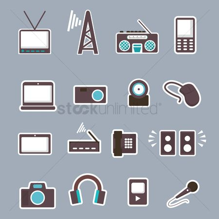 Routers : Media icons